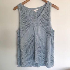 Cabi knit tank top